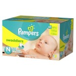 Target: 6-Pack Pampers Diapers Super Packs or Huggies + $50 Target GC $150
