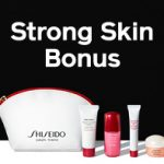 Shiseido: 3 Piece Gift with Purchase