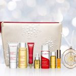 Clarins: 9-piece gift of Clarins bestsellers (a $105 value) free