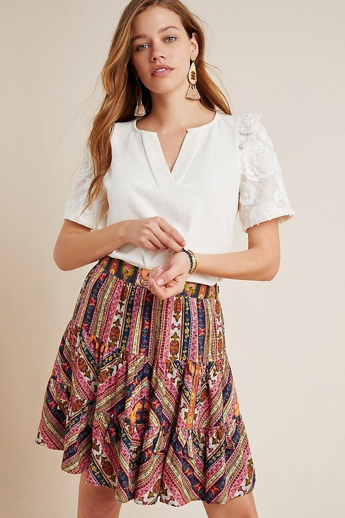 Anthropologie: 25% off all Clothing, Shoes +Accessories