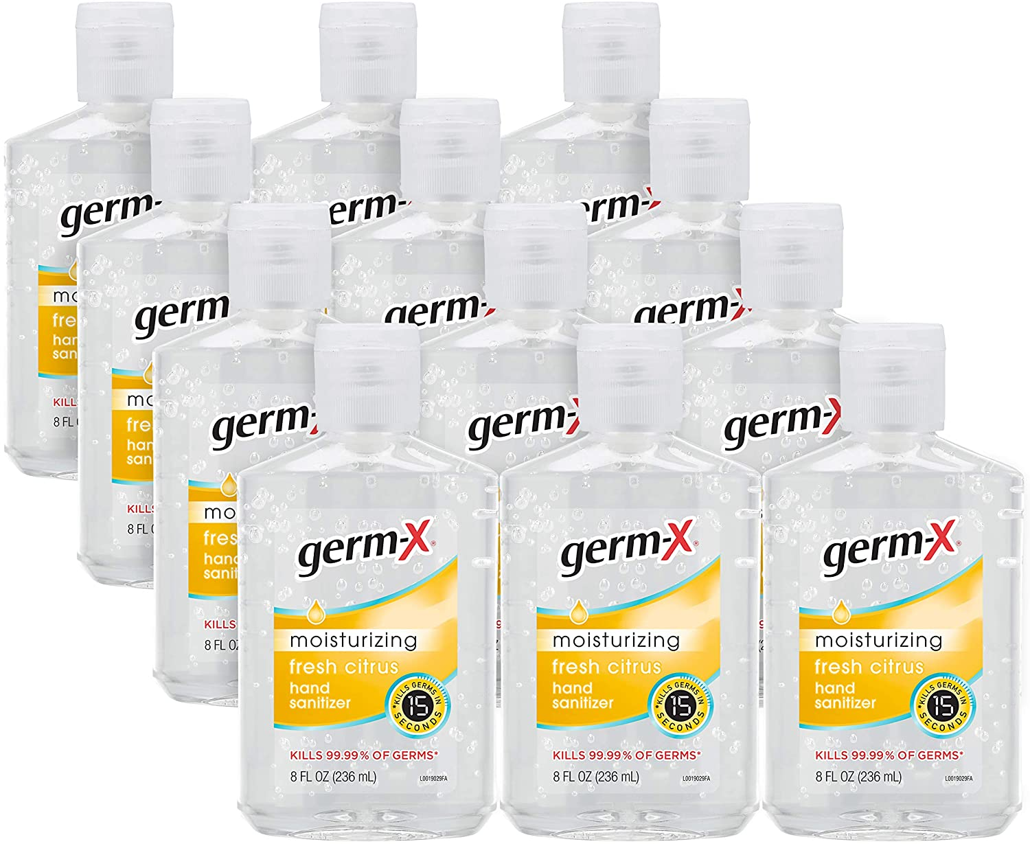 Amazon: Germ-X Original Hand Sanitizer (12-pack of 8 oz) for .