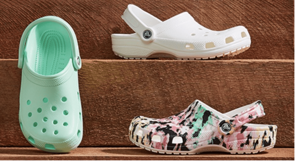 Crocs: 40% off everything!