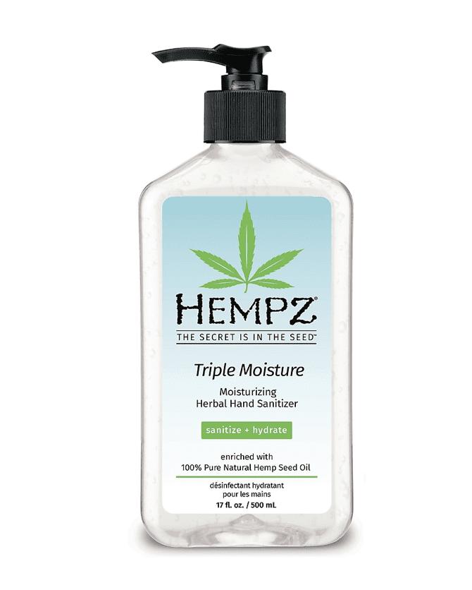 Staples: Hempz Hand Sanitizer 17 oz, .99