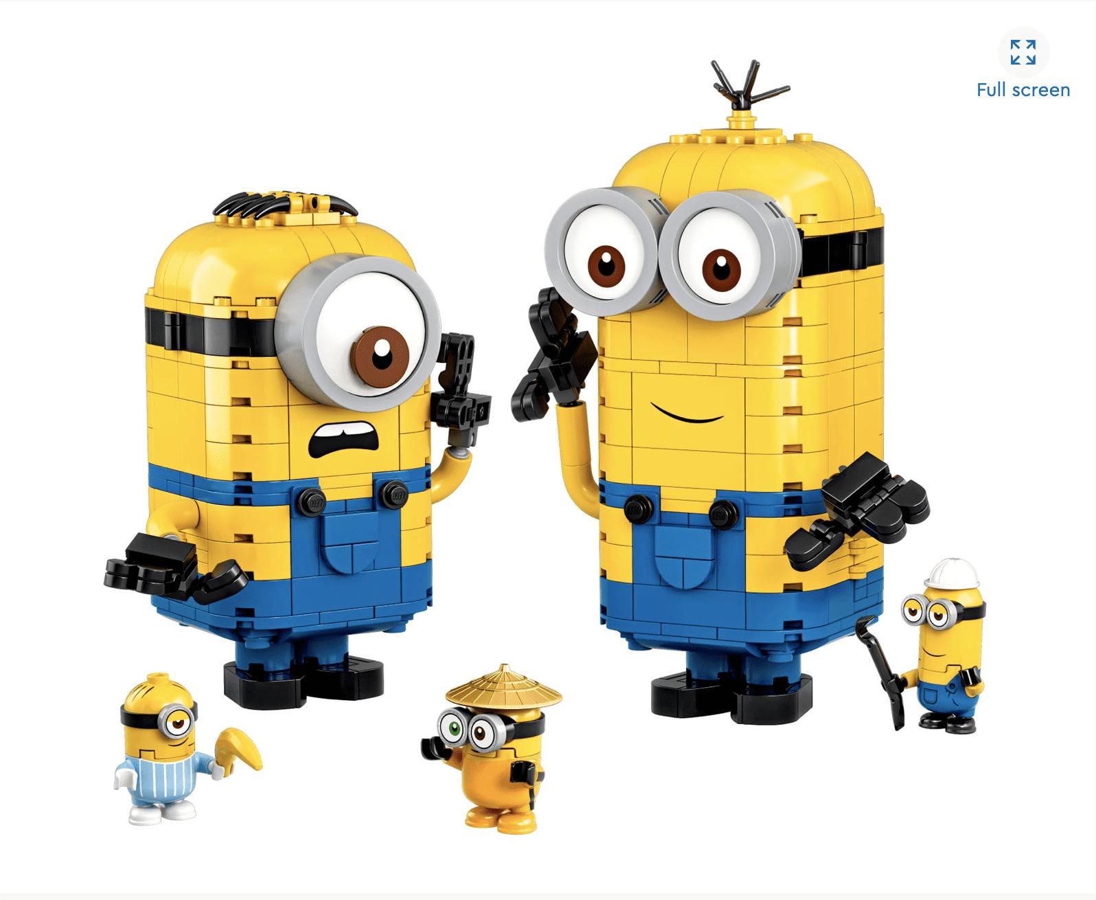 LEGO Minions Brick-built Minions and their Lair .99