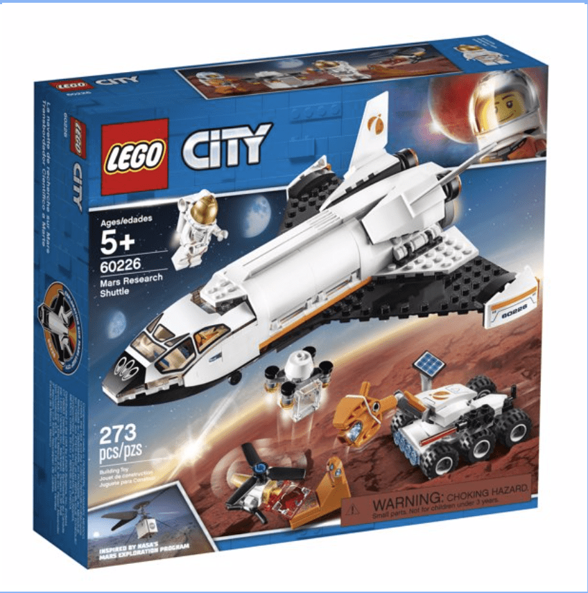 Walmart: LEGO City Space Mars Research Shuttle 60226 for .99.