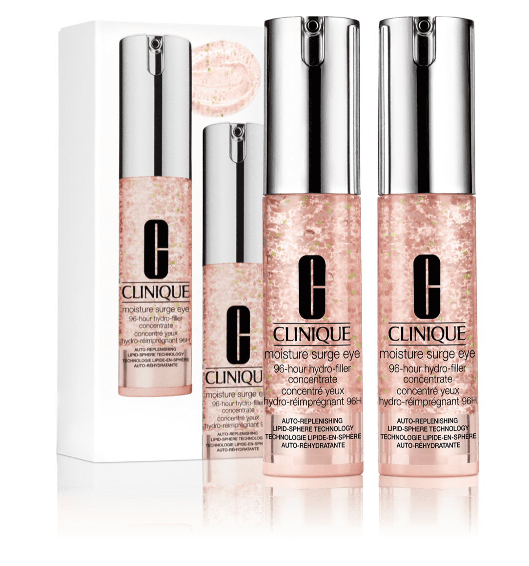 Clinique: 50% off Moisture Surge Eye Concentrate Duo.