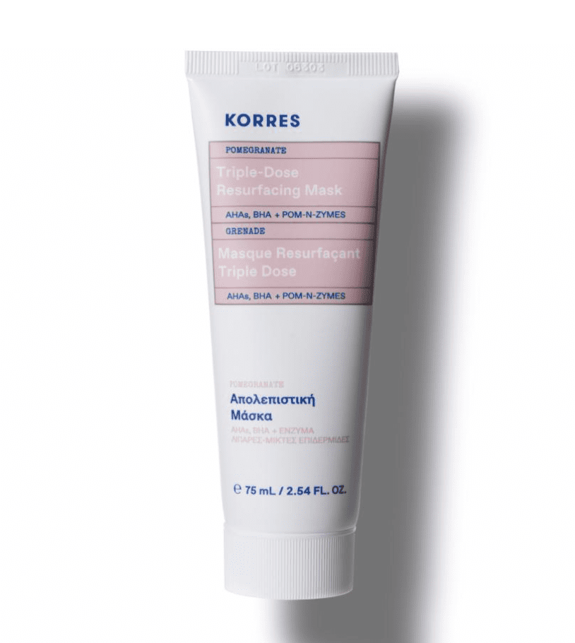 Korres: 40% off Pomegranate mask