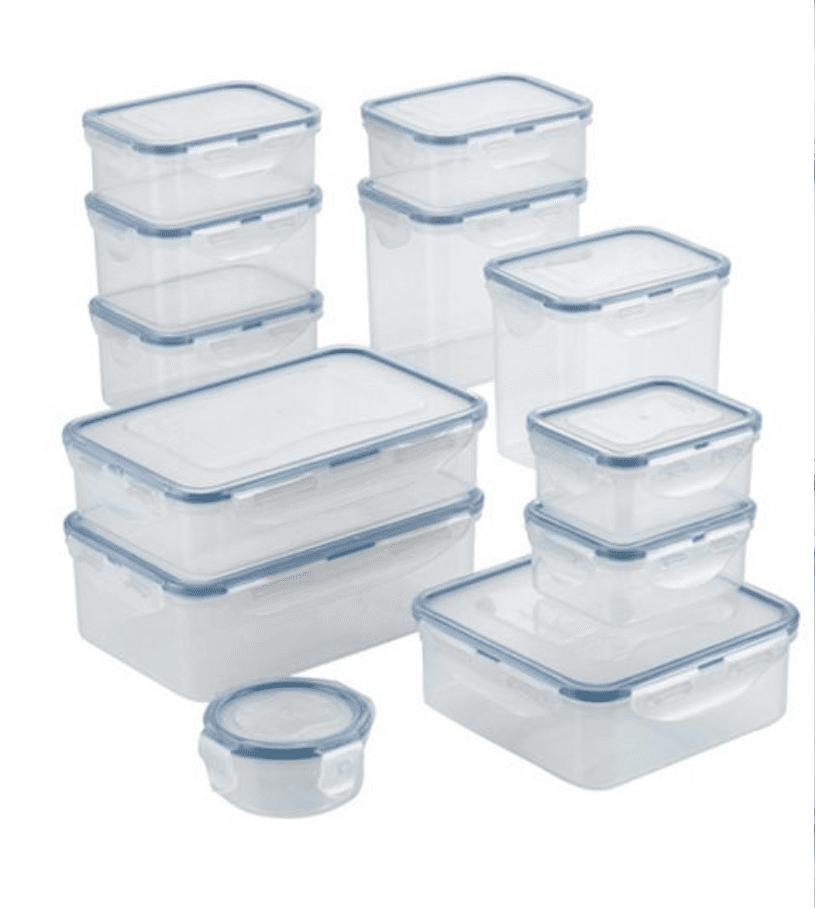 Macy's: Lock n Lock 24-piece food storage set for .99