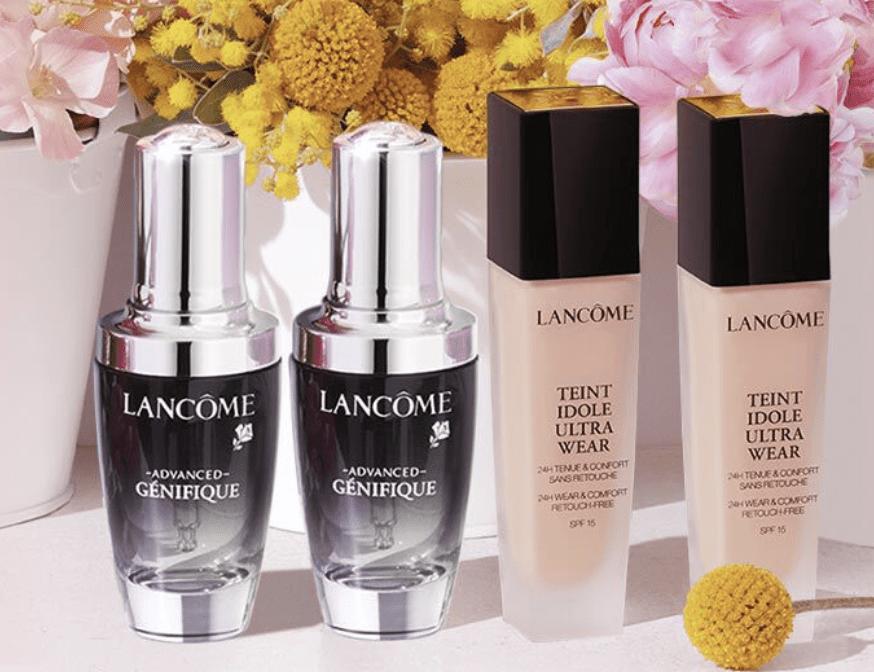 Lancôme: 25% off buy your 2 favorite +  off !