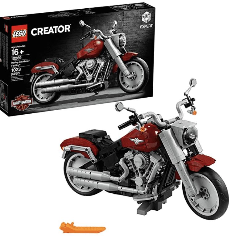 Amazon: LEGO Creator Harley Fat Boy 10269 for .95