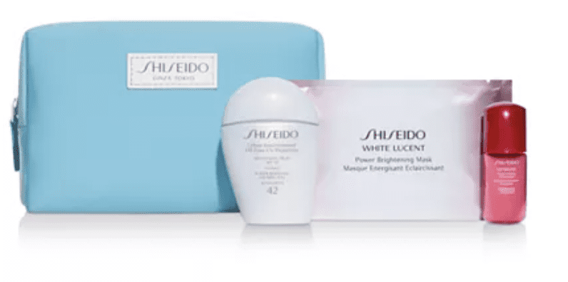 Macy's: Shiseido 4-pc SPF x daily play set for
