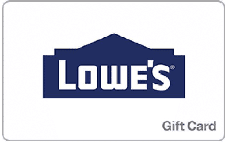 Newegg: Lowe's 0 gift card for
