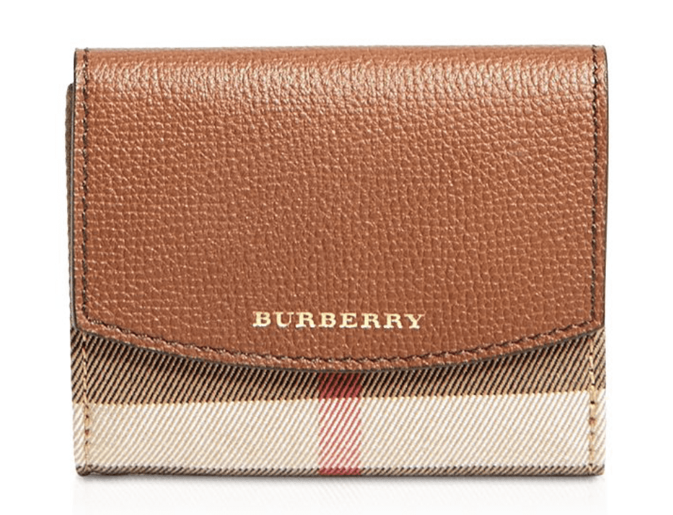 Burberry Luna Leather Wallet for 9.99