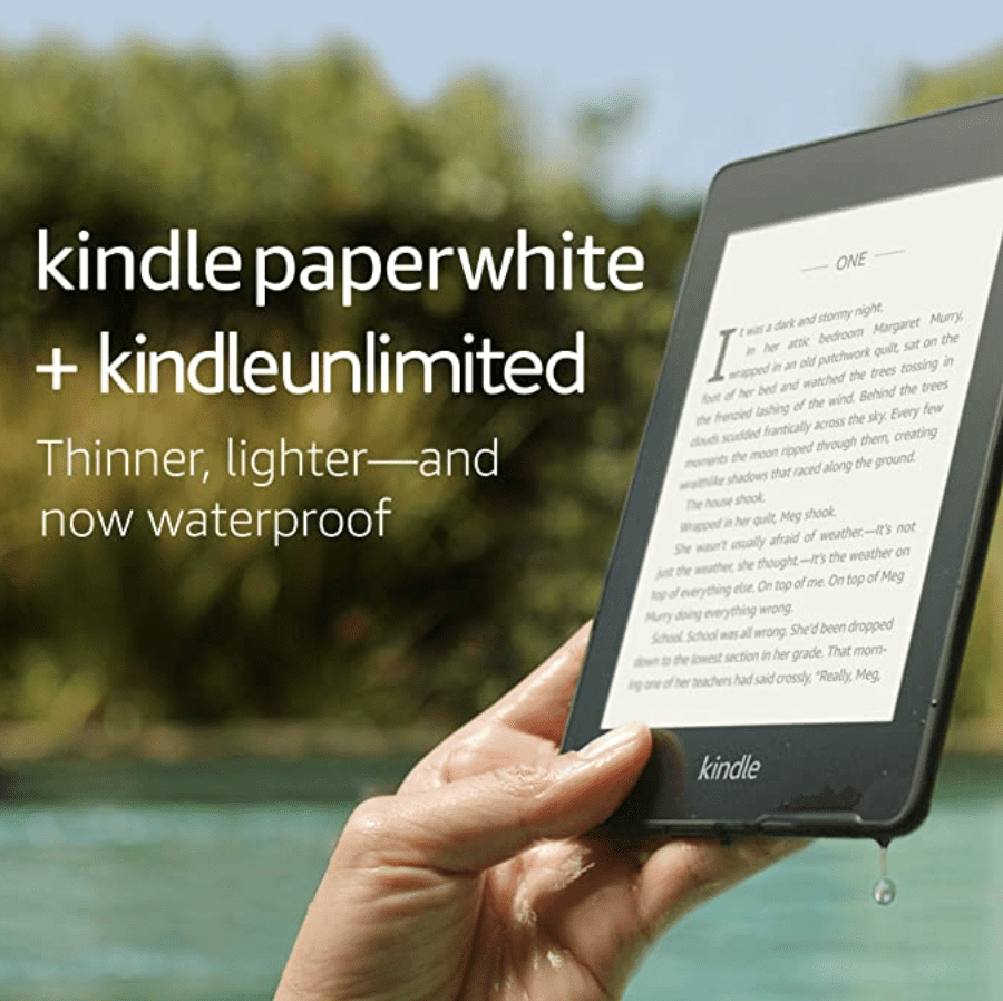 Amazon: Kindle Paperwhite for .99