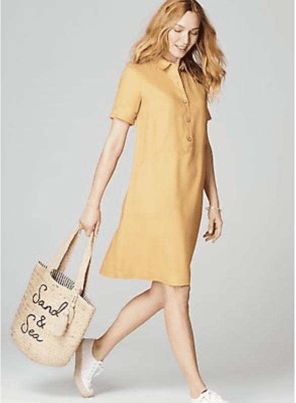 J.Jill: Extra 40% off sale styles.
