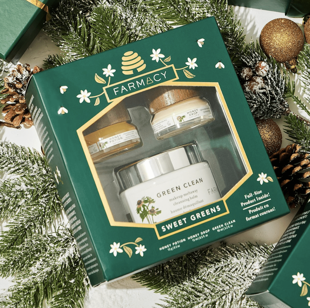 Farmacy: SWEET GREENS gift set for