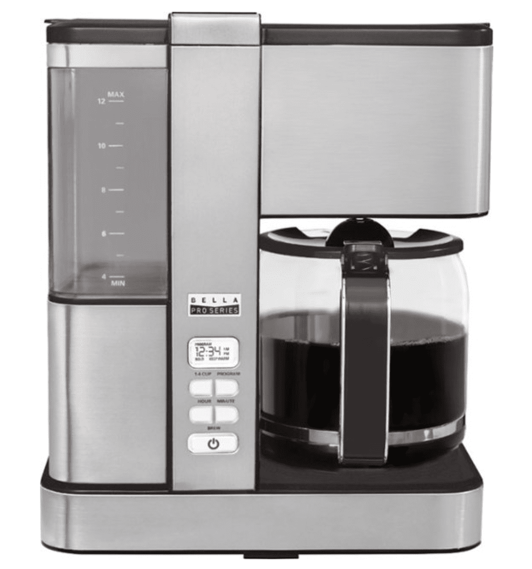 Best Buy: Bella Pro Series 12-Cup Coffer Maker for .99
