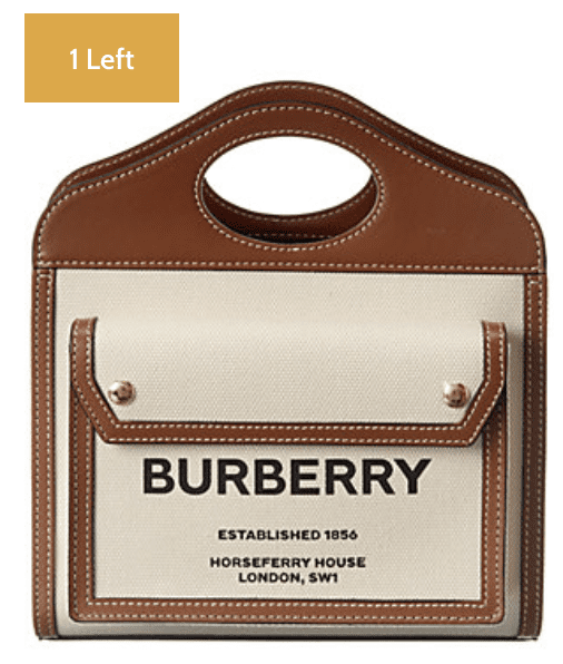 Gilt: Burberry Handbags on sale!