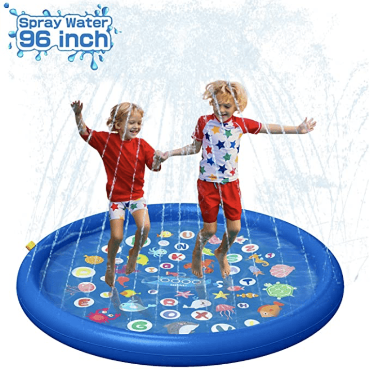 Amazon: QPAU Inflatable Splash Pad Sprinkler for Kids for .9