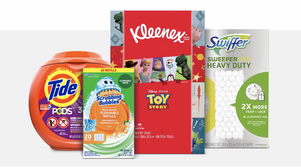 Target:  Gift Card with  Household purchase