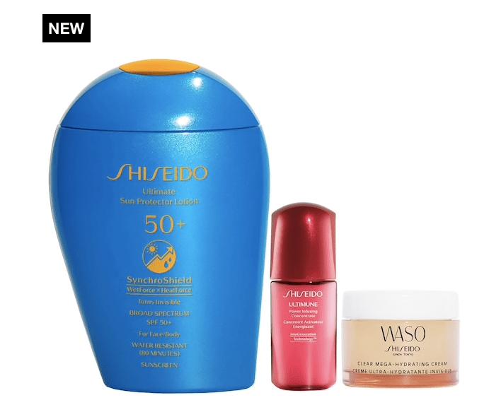 Shiseido SPF x Active Play Sun Protection Set for .