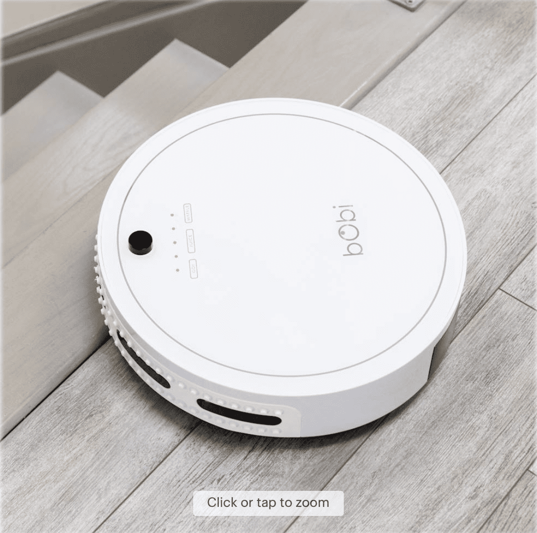 Best Buy: bObi Classic Robot Vacuum & Mop for 9.99