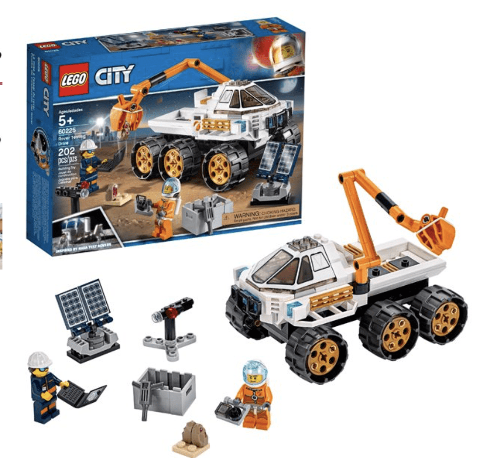 LEGO City Rover Testing Drive 60225 Building Kit for .99