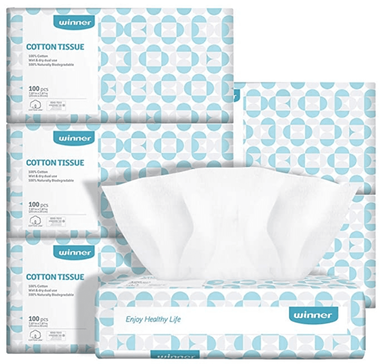 Amazon: Winner Soft Dry Wipe, 600 Count for .79