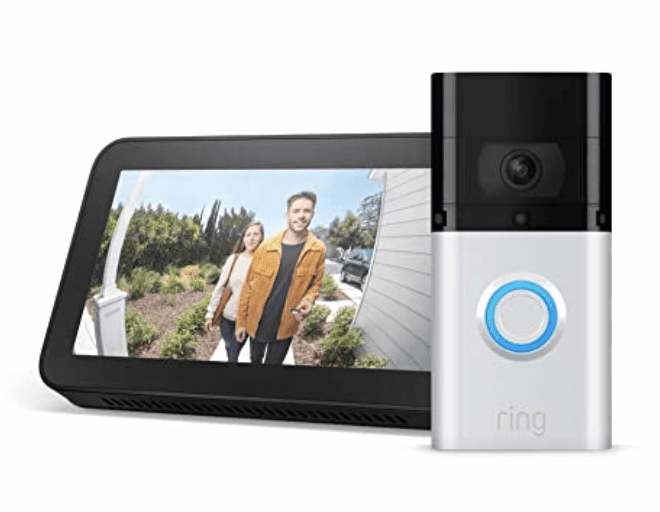 Amazon: Ring Video Doorbell 3 bundles on sale