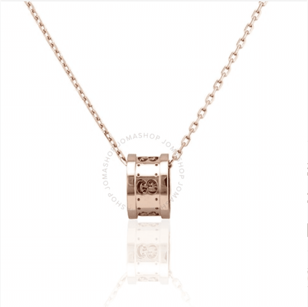 Gucci Icon Twirl 18k Rose Gold Necklace for 9.99