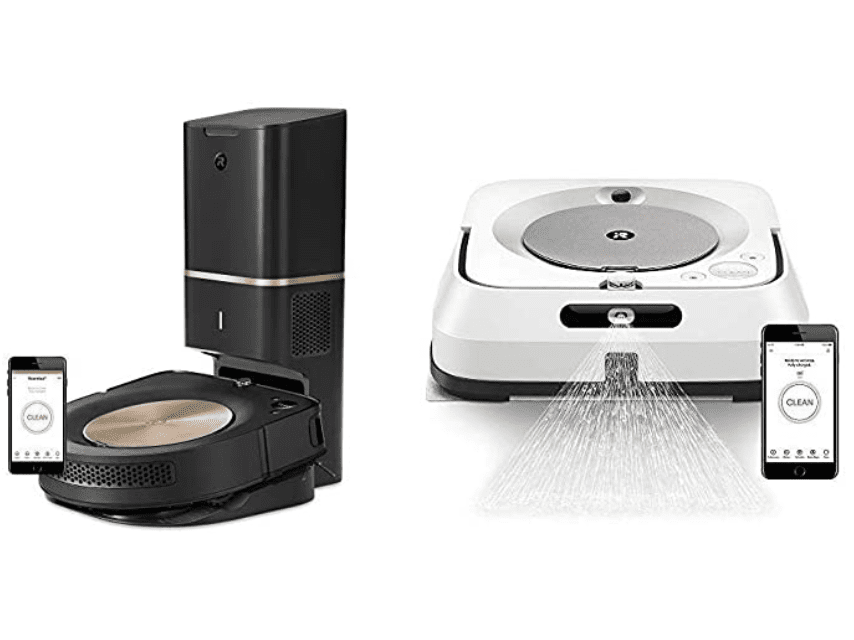 Amazon: Robot Roomba S9 & Braava Jet M6 for 9