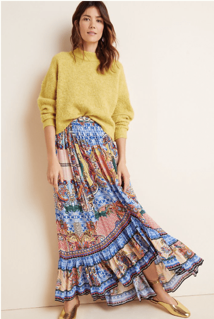 Anthropologie: Extra 50% off on sale styles