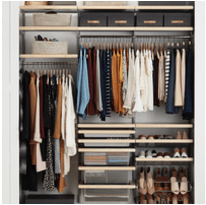 The Container Store: 25% off Elfa Closet System