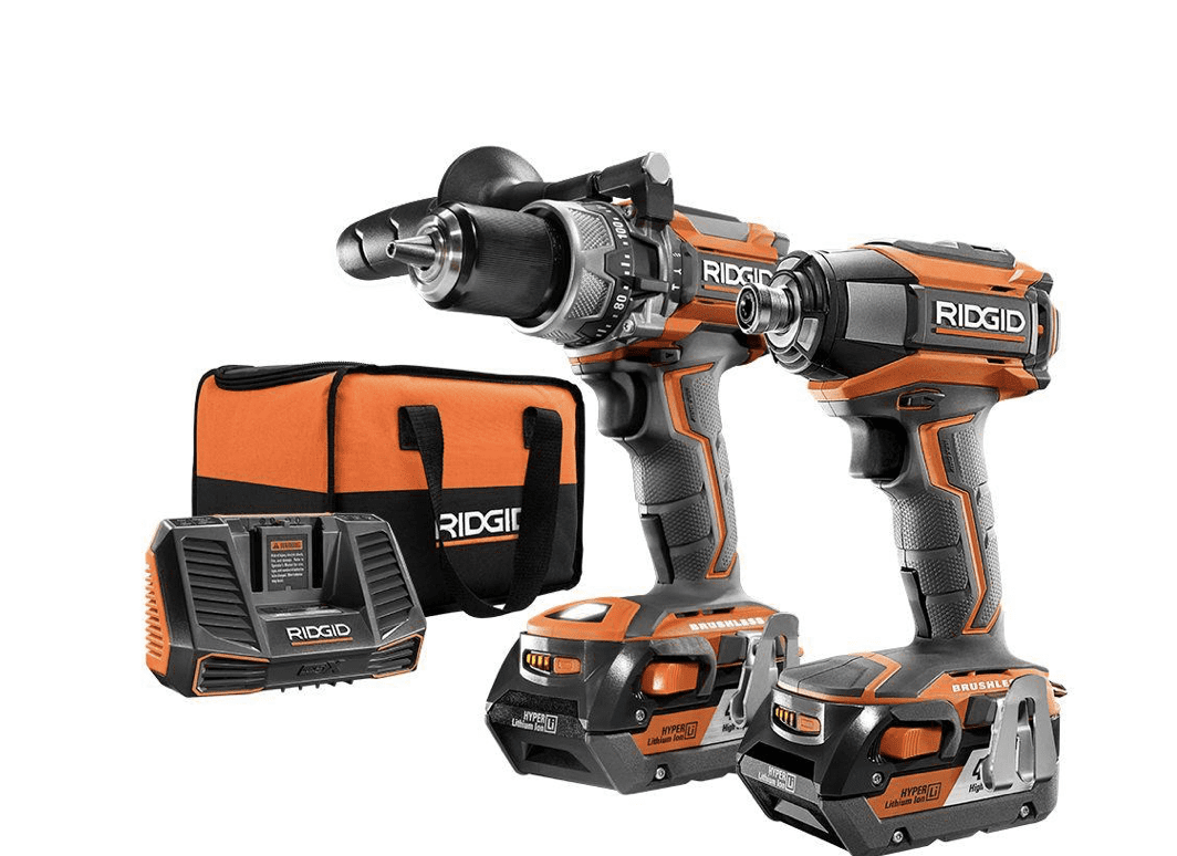 RIDGID Hammer Drill & Driver Kit for 9