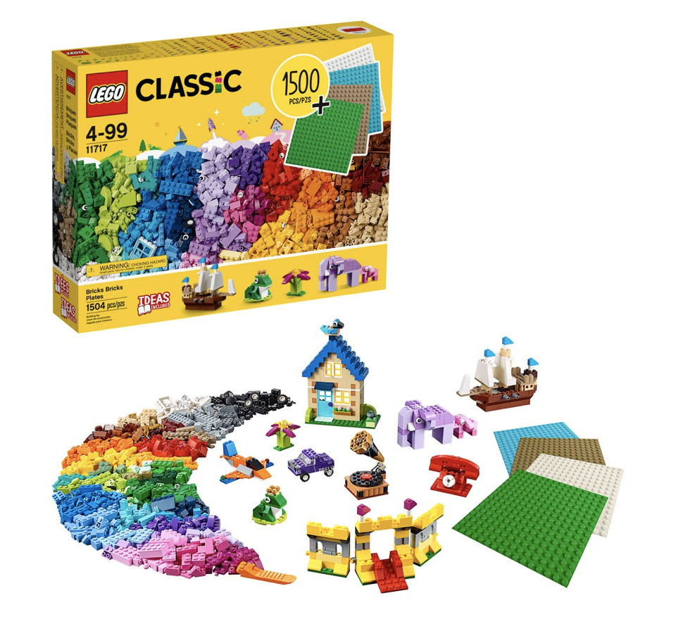 LEGO Classic Bricks Plates 11717 (1500 pieces) for .97