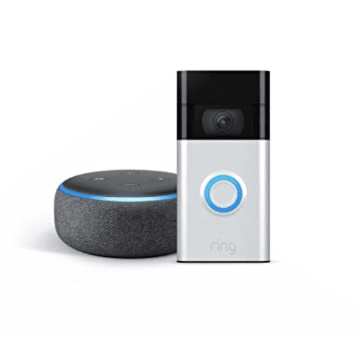 All-new Ring Video Doorbell + Free Echo dot for .99