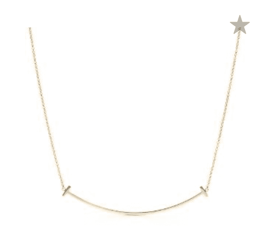 Farfetch: Tiffany & Co T smile Necklace For 0
