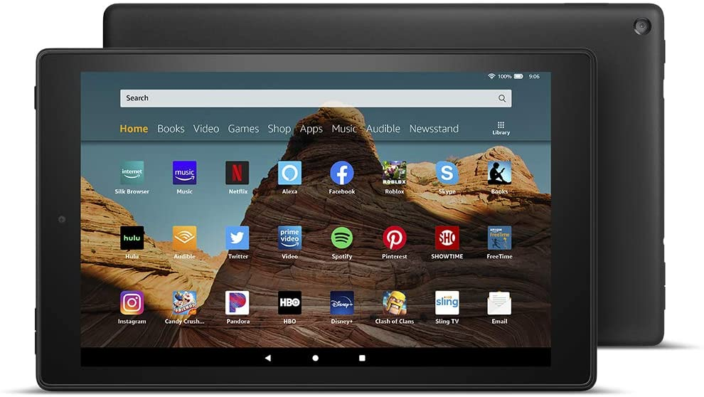 Amazon:  Off Fire HD 10 Tablet