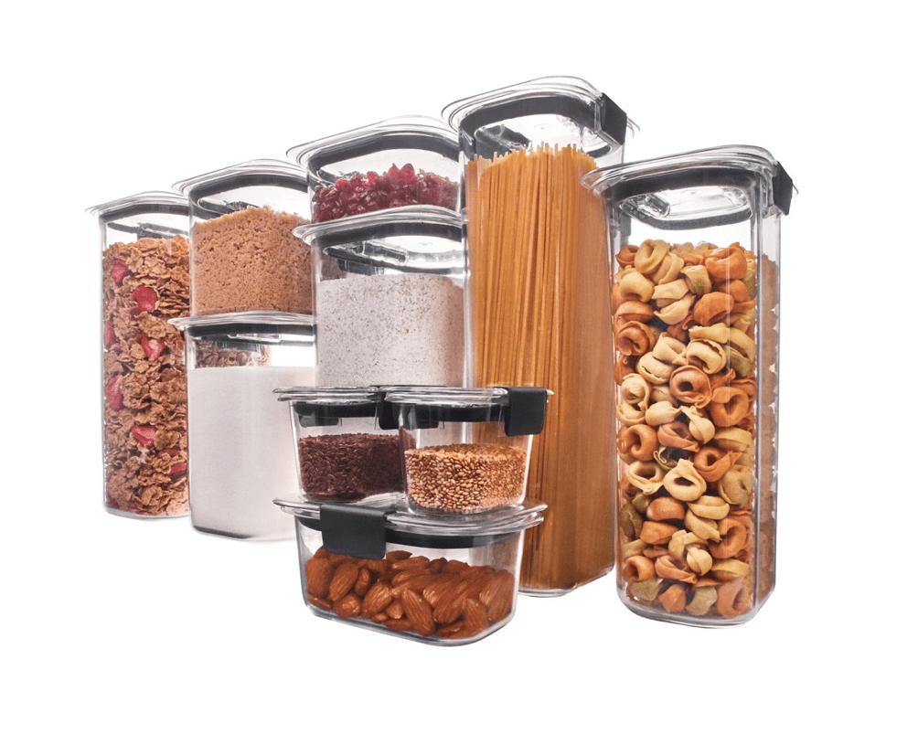 Rubbermaid Brilliance Pantry Food Storage for .2