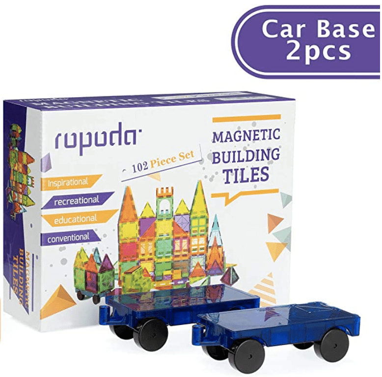 Ropoda Magnetic Tiles 102 PCS for .99