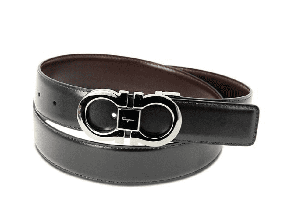 Salvatore Ferragamo Men's Leather Belt for 9.99