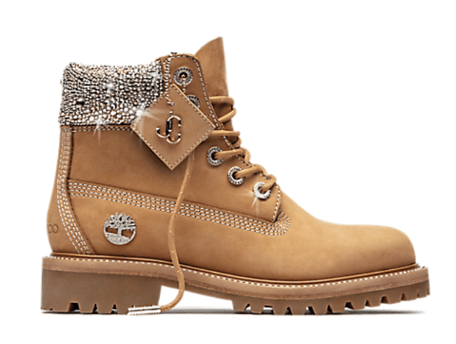 Timberland x Jimmy Choo co-branded styles launched