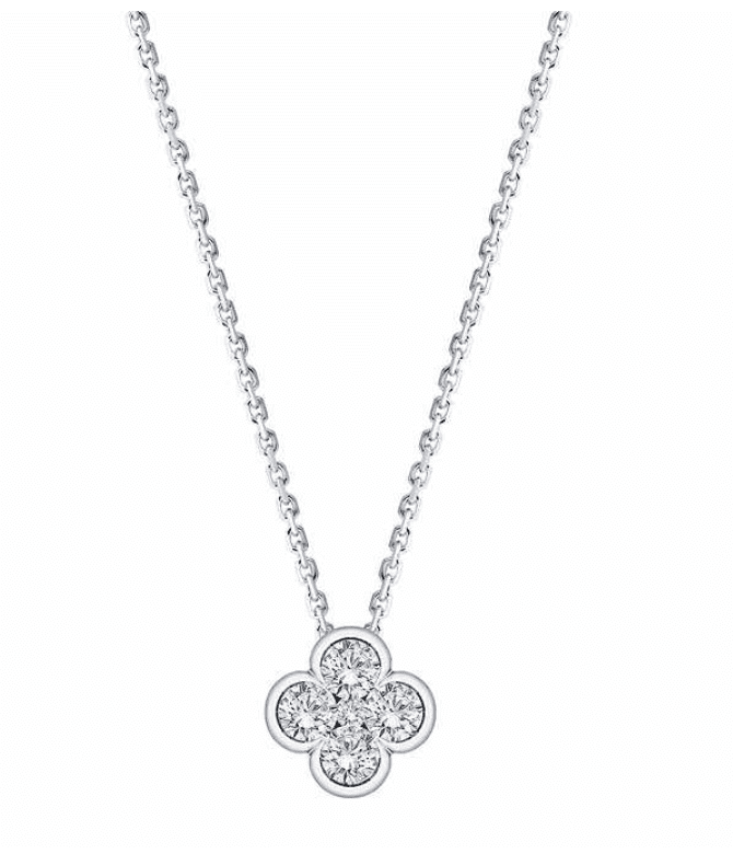Costco: 0.50 ctw Diamond 14kt White Gold Necklace for 9.99