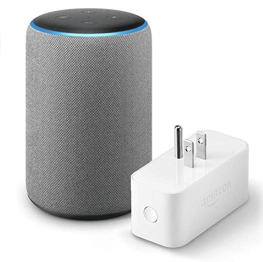 Echo Plus with Amazon Smart Plug for .99