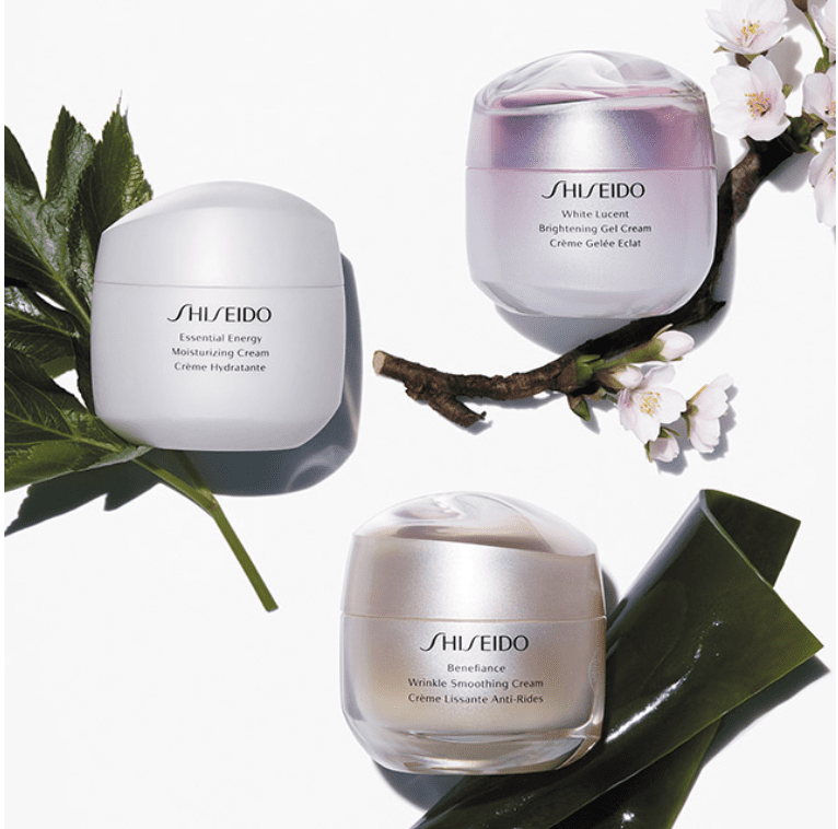 Shiseido: 20% off sitewide!