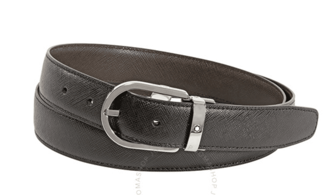 MONTBLACE Reversible Leather Belt for 9.99