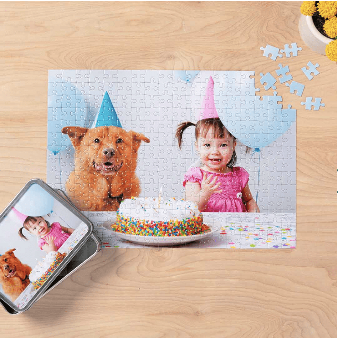 Walgreens: 10 x 14 Custom Photo Puzzle for .49