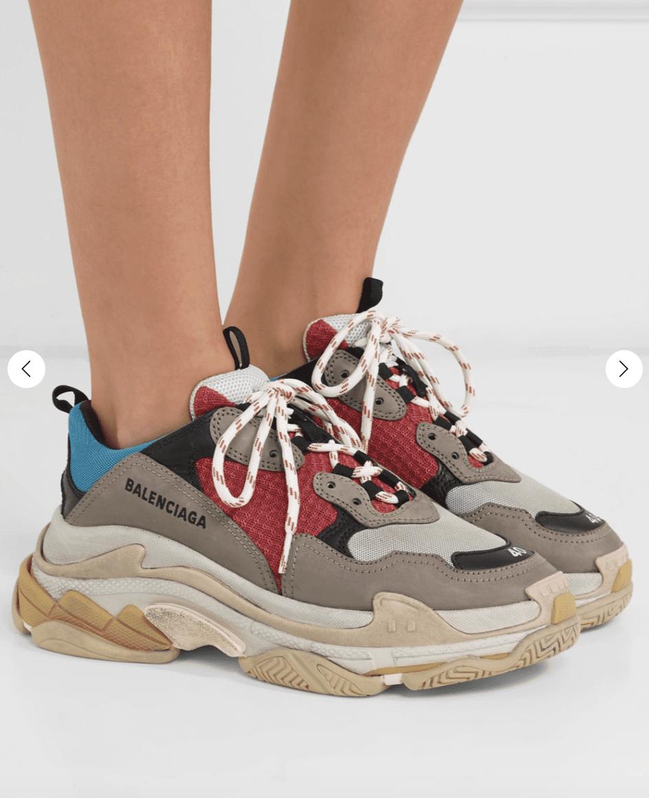 NAP UK: Balenciaga Triple s Sneaker for 599GBP