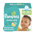 Walmart:  E-Gift Card with 2 boxes Diapers