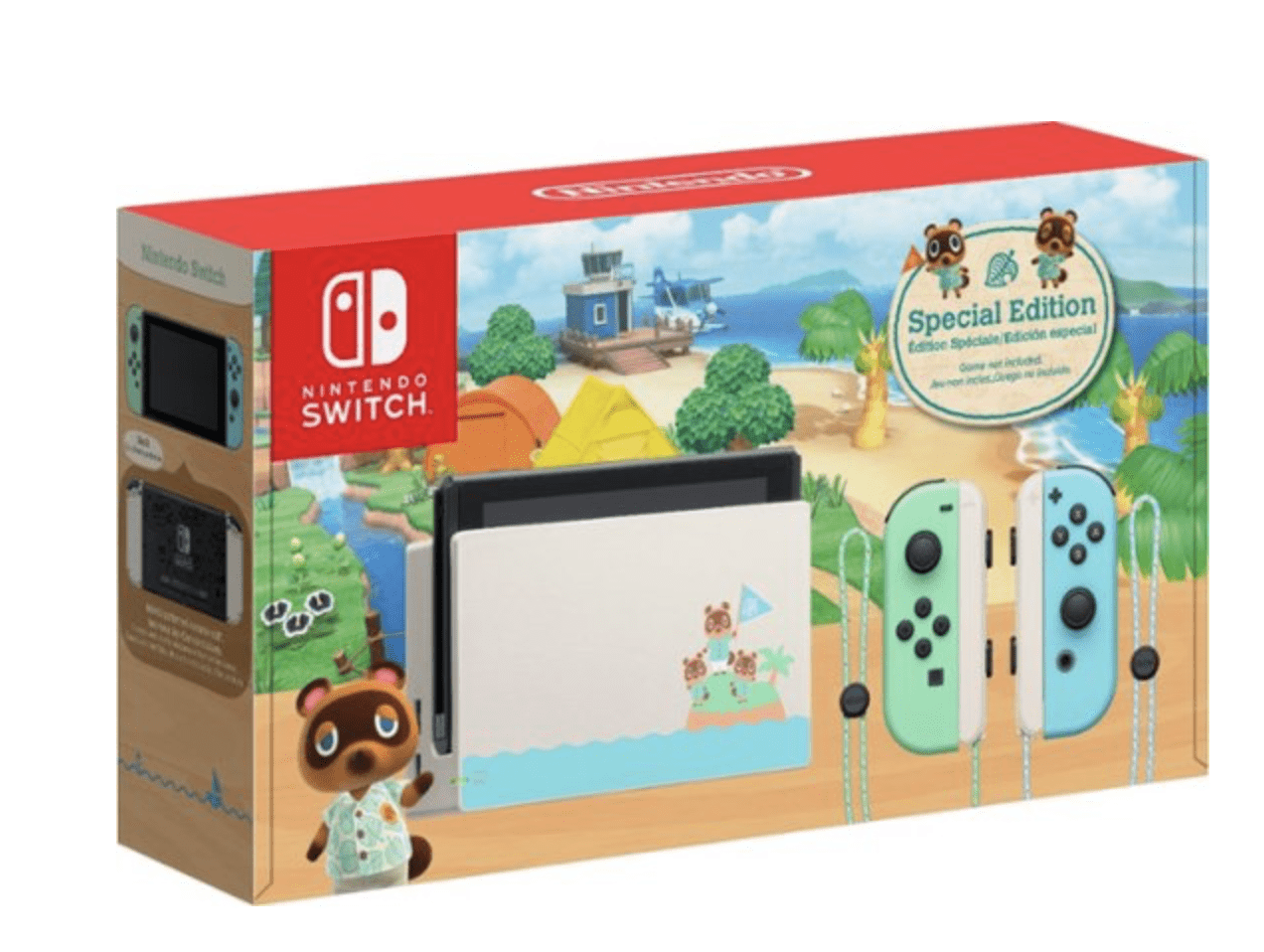 Nintendo Switch Console New Horizons Edition for 9.99